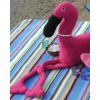 Fiber Trends - Pattern - FT221 A Flamingo Beach Party