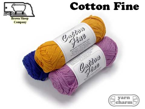 Brown Sheep Cotton Fine
