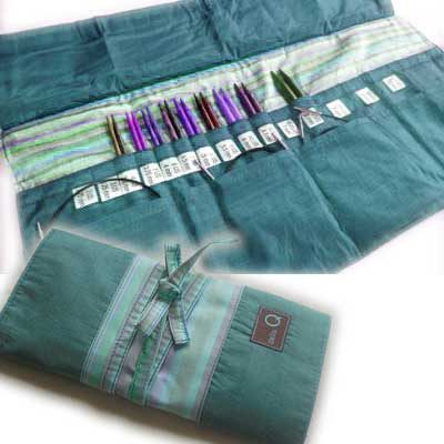 Della Q - Interchangeable Needle Case - Seafoam 185-1-017