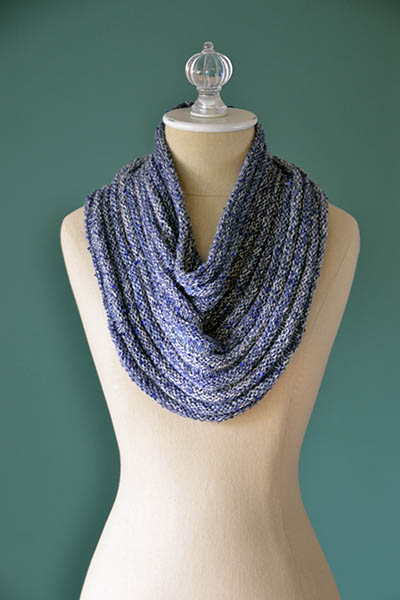 Crinkle Cowl Kit - 02 - Blue
