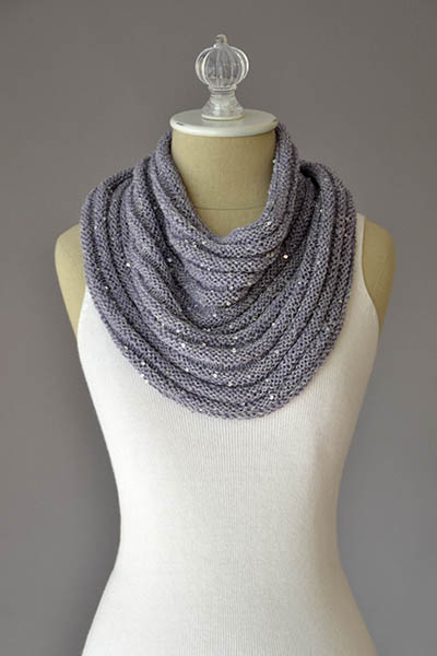 Crinkle Cowl Kit - 04 - Dove Gray