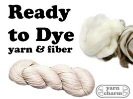 Fibers & Yarn - Ready to Dye