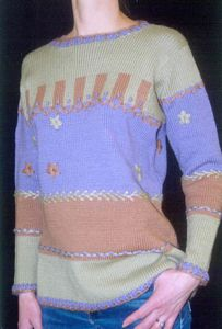 Pattern - Patchwork Pullover - Click Image to Close