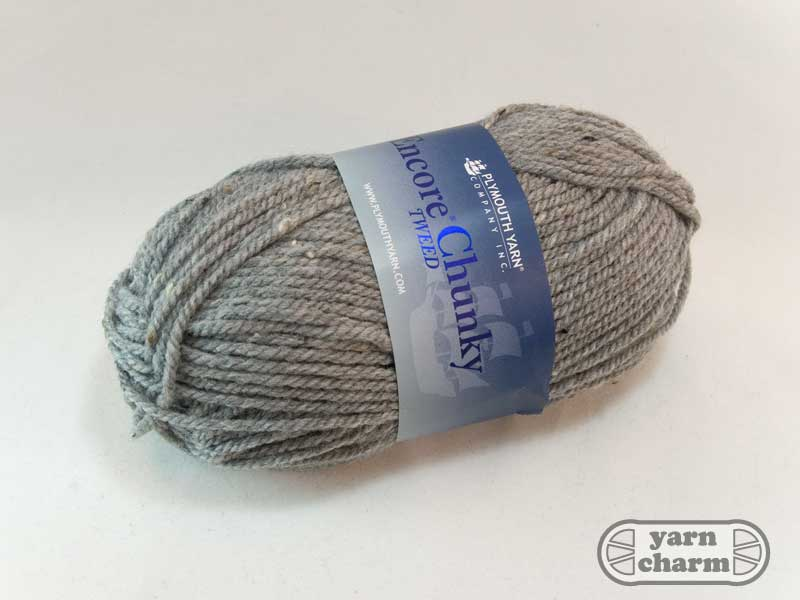 Plymouth Encore Tweed Chunky - T789 Grey - Click Image to Close