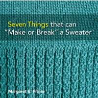 Book: Seven Things That Can Make Or Break A Sweater