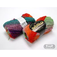 Noro Kureyon - 319 Lime Orange Violet Jade