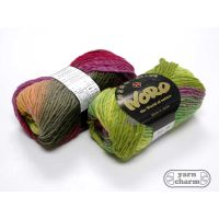 Noro Kureyon - 95 Lime Hot Pink Orange