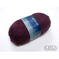 Plymouth Encore Worsted - 0355 Garnet Mix