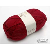 Rowan Pure Wool Worsted - 124 Rich Red